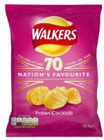 Walkers Crisps Prawn Cocktail 32 x 32.5gm
